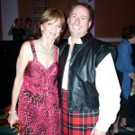The gorgeous Nora Roberts and the dashing Rick Ochocki