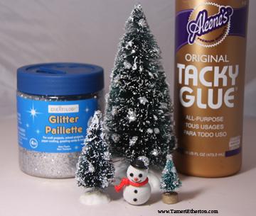 ChristmasCraftGlitterTrees