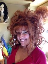 Sheri Red Wig