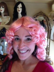 Sheri Light Pink Wig
