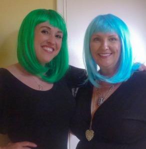 Rockin' the wigs 1