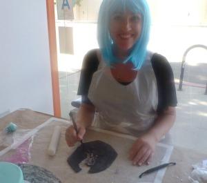Sheri's Carving Skills