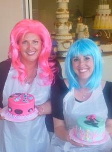 Tameri & Sheri Rockin' the Cakes!