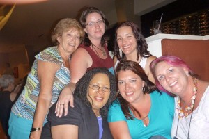 Patricia Sands, Steena Holmes, Kate Wood, Elena Aitken, and Barbara McDowell. Love you.
