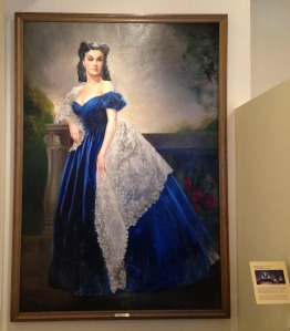 Margaret Mitchell House ~ Scarlett Blue Portrait