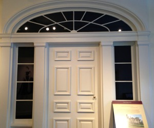The original doorway to Tara ~ Margaret Mitchell's House.