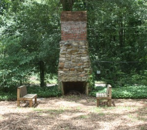 Stately Oaks ~ Fireplace
